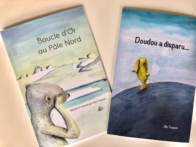 Covers Boucle d'Or au Pôle Nord and Doudou a disparu