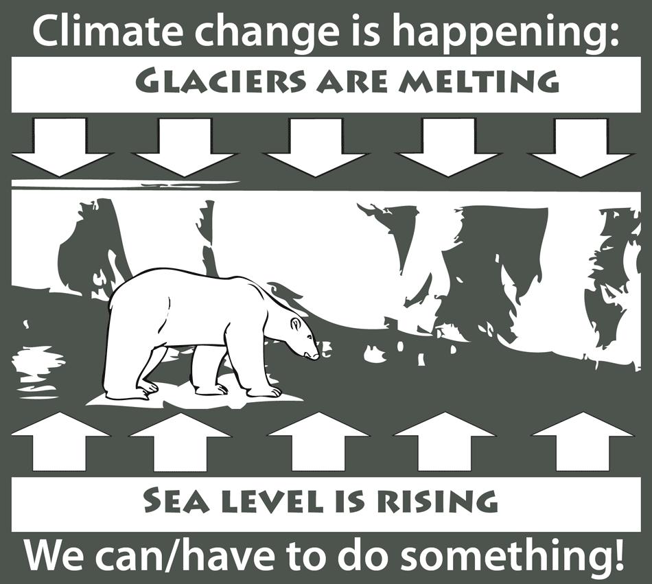 Infograph on global warming