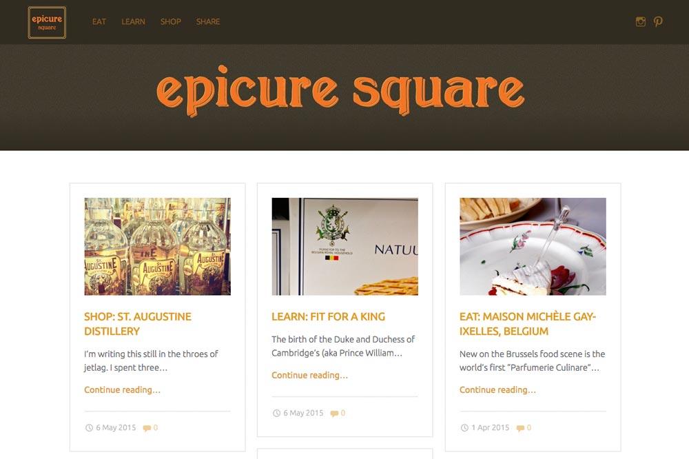Blog Epicure Square